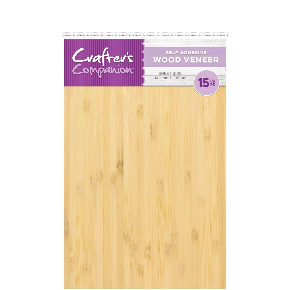 Crafter's Companion WOOD VENEER Craft Material Pack cc-woodv zoom image