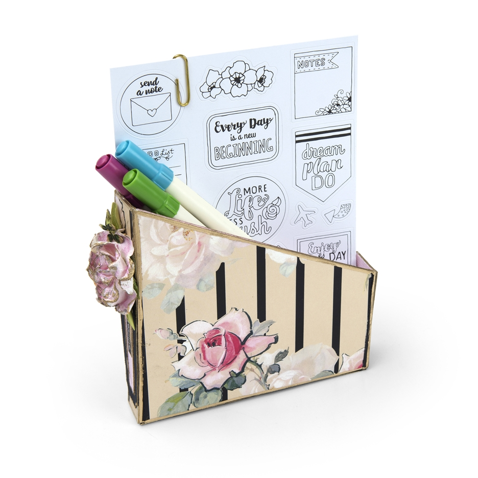 Sizzix CARD BOX, PLANNER STORAGE AND ORGANIZER ScoreBoards XL Die 662361 zoom image