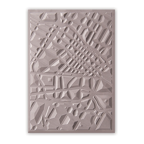 Sizzix Textured Impressions MAP 3D Embossing Folder 662456* Preview Image