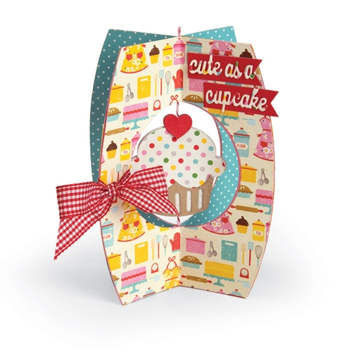 Sizzix CARD CUPCAKE Thinlits Die Set 662348* Preview Image