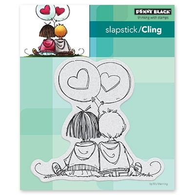 Penny Black Cling Stamp IN LOVE Rubber Unmounted 40-584 Preview Image