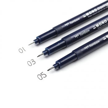 Tombow MONO DRAWING PEN Set 66403