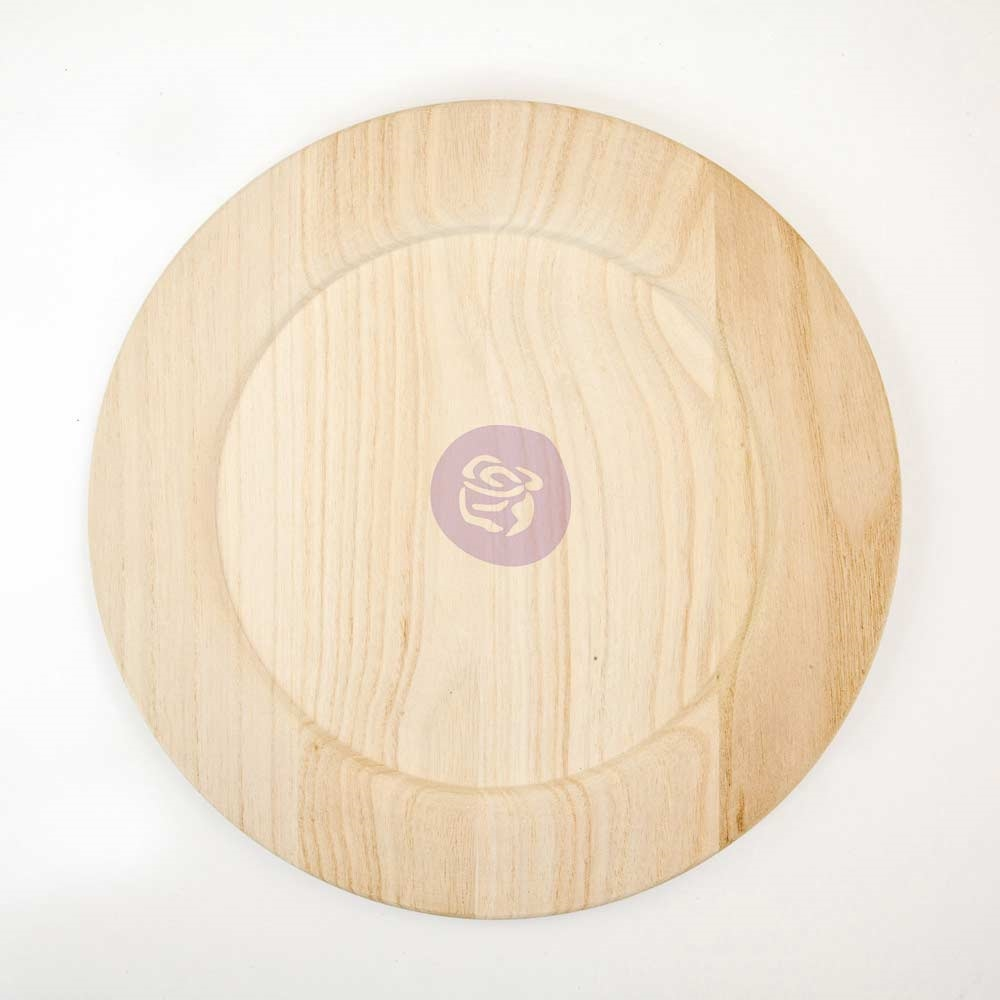 Prima Marketing 12 INCH WOOD PLATE BLANK 816865* zoom image