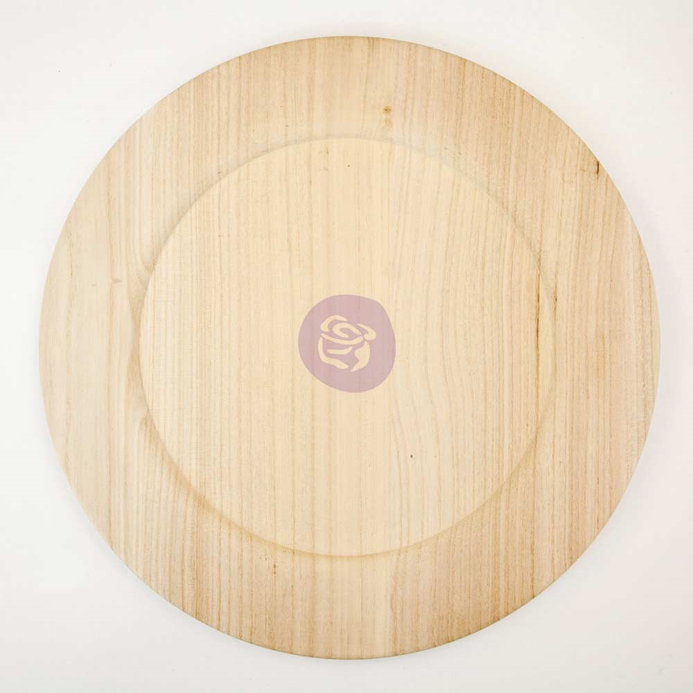 Prima Marketing 14 INCH WOOD PLATE BLANK 816872* zoom image