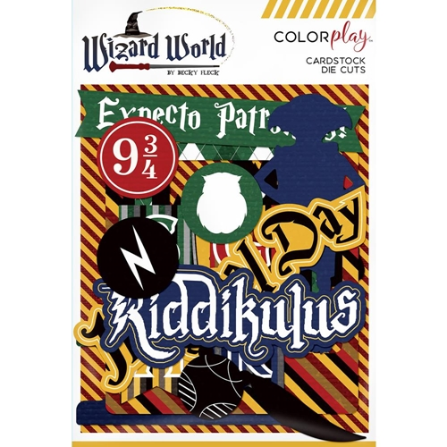 PhotoPlay WIZARD WORLD Ephemera ColorPlay ww8833 Preview Image