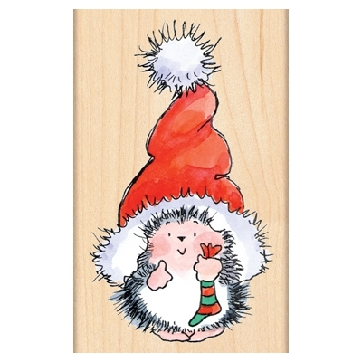 Penny Black Rubber Stamp SANTA'S HAT 4283K zoom image