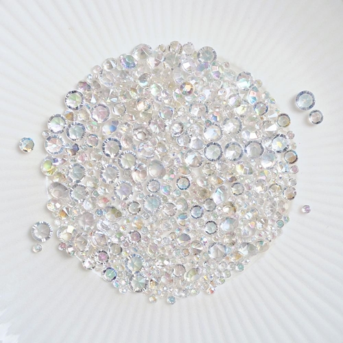 Little Things From Lucy's Cards DIAMONDS OPALESCENT LBJ21 Preview Image