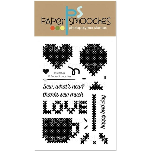 Paper Smooches IN STITCHES Clear Stamps J1S301 Preview Image