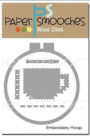 Paper Smooches EMBROIDERY HOOP Wise Dies J1D422 zoom image