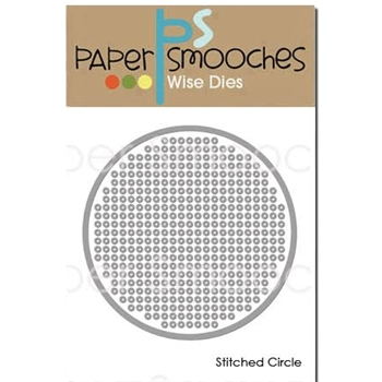 Paper Smooches STITCHED CIRCLE Wise Dies J1D423