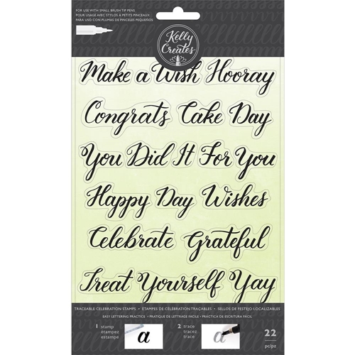Kelly Creates TRACEABLE CELEBRATIONS Clear Stamps 346396 Preview Image