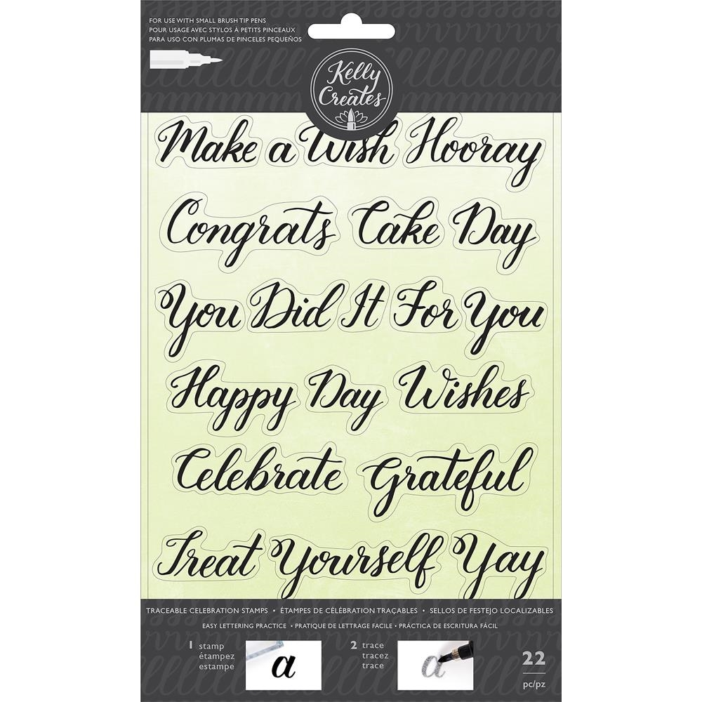 Kelly Creates TRACEABLE CELEBRATIONS Clear Stamps 346396 zoom image