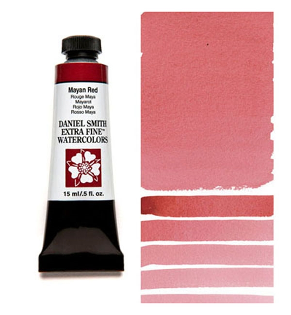 Daniel Smith MAYAN RED 15ML Extra Fine Watercolor 284600217 zoom image