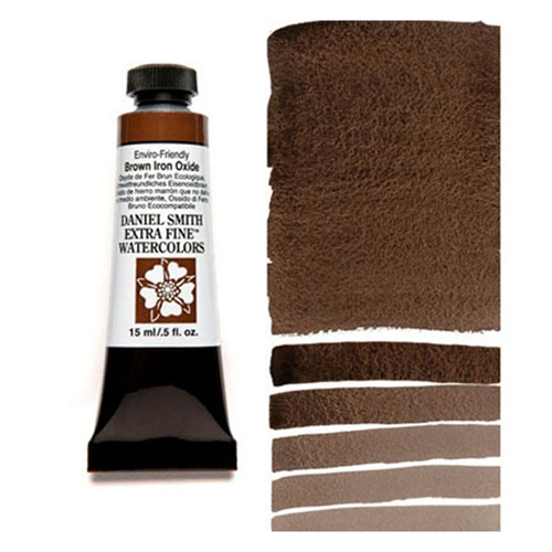 Daniel Smith BROWN IRON OXIDE 15ML Extra Fine Watercolor 284600178 Preview Image