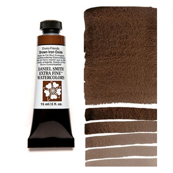 Daniel Smith BROWN IRON OXIDE 15ML Extra Fine Watercolor 284600178*