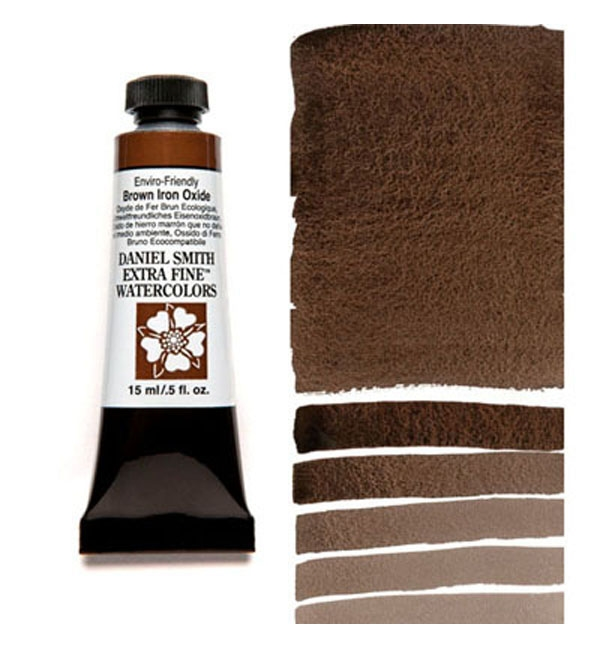 Daniel Smith BROWN IRON OXIDE 15ML Extra Fine Watercolor 284600178 zoom image