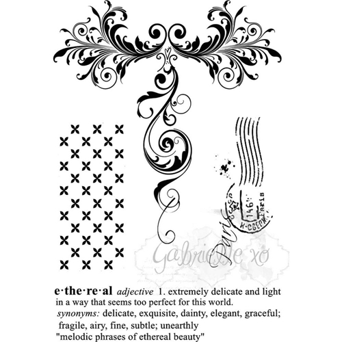 49 and Market GABI'S ETHEREAL Clear Stamp Set GP-85564* Preview Image