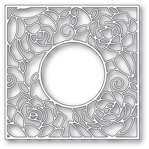 Poppy Stamps ROSE FRAME Craft Die 2033* Preview Image