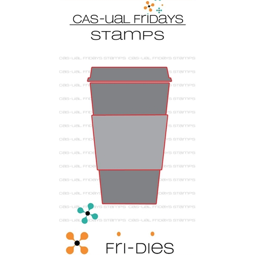 CAS-ual Fridays TO GO CUP Fri-Dies CFD1802* Preview Image
