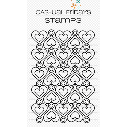 CAS-ual Fridays HEART TO HEART Clear Stamps CFS1807* Preview Image