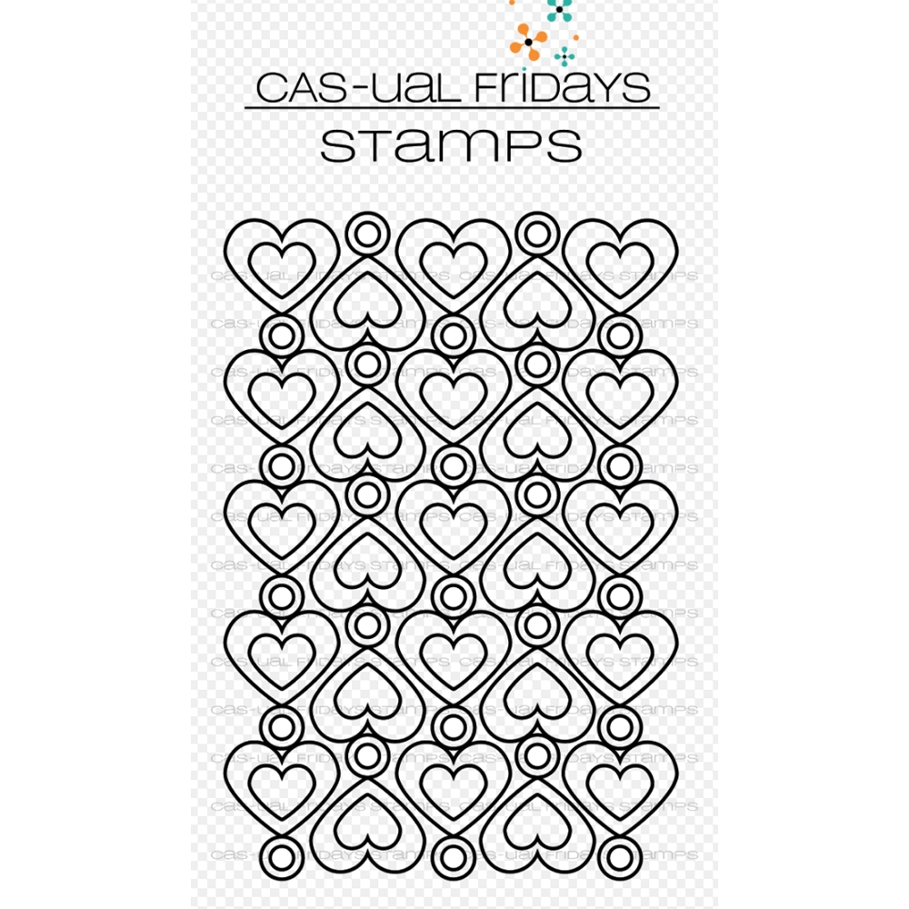 CAS-ual Fridays HEART TO HEART Clear Stamps CFS1807* zoom image