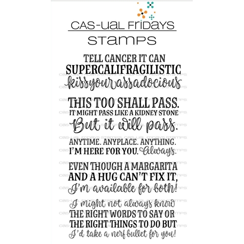 CAS-ual Fridays SUPERCALIFRAGILISTIC Clear Stamps CFS1805 Preview Image