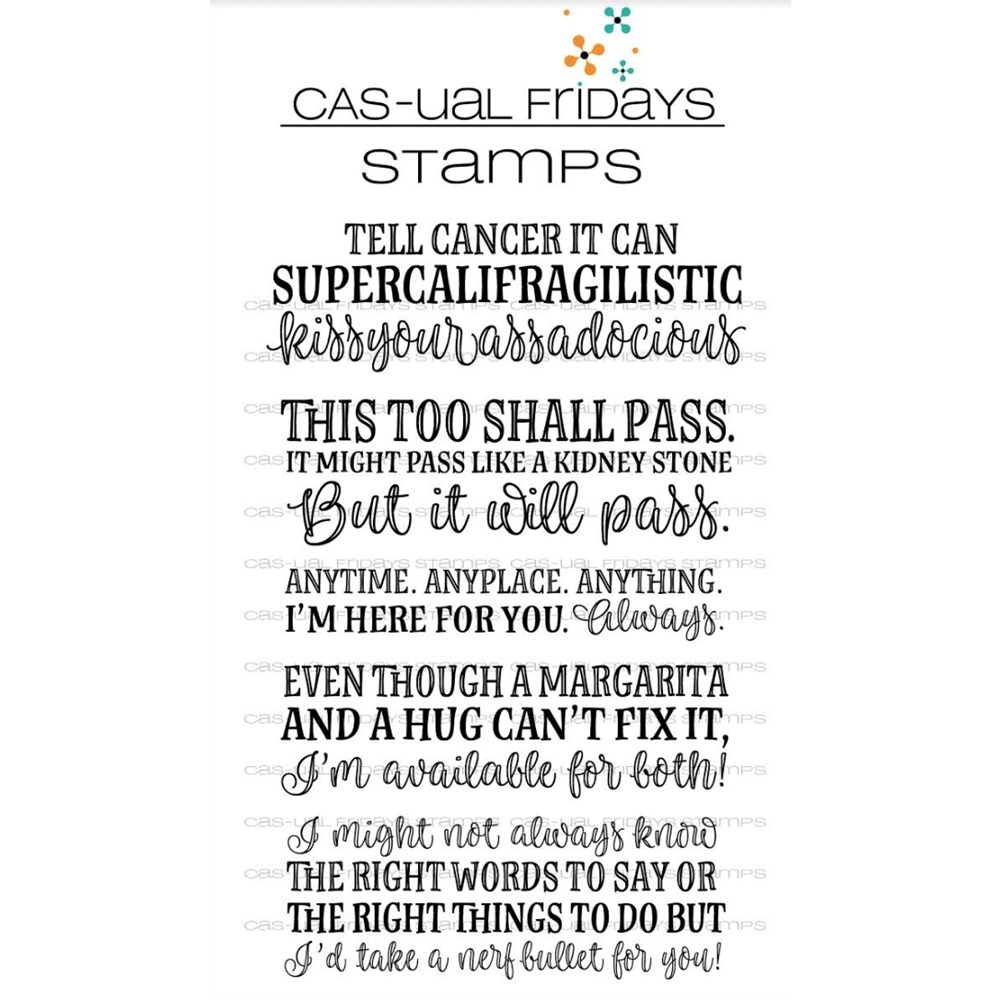 CAS-ual Fridays SUPERCALIFRAGILISTIC Clear Stamps CFS1805 zoom image