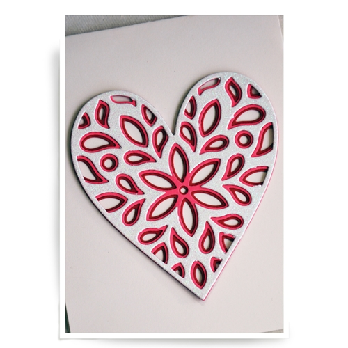 Birch Press Design FIORI HEART LAYER SET Craft Dies 56069 Preview Image