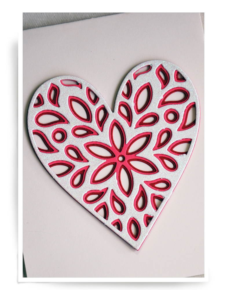 Birch Press Design FIORI HEART LAYER SET Craft Dies 56069 zoom image