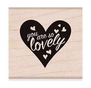 Hero Arts Rubber Stamp YOU ARE SO LOVELY D6275* Preview Image