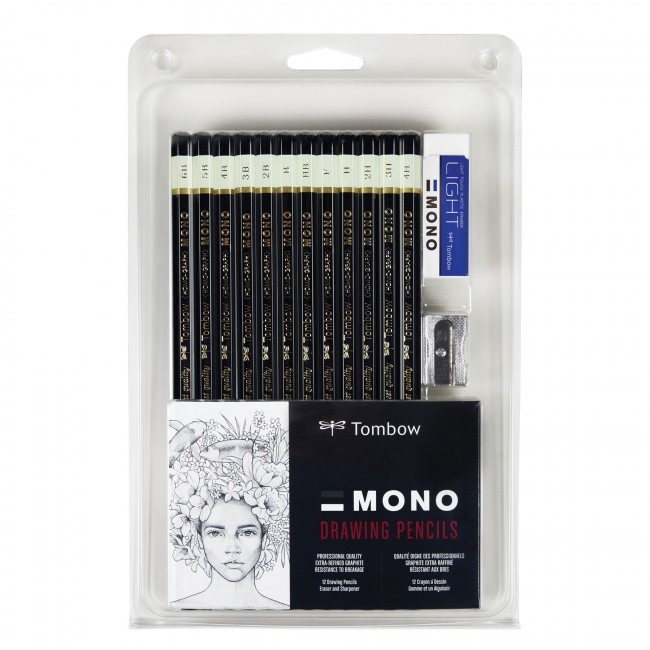 Tombow MONO DRAWING PENCIL SET 51523* zoom image