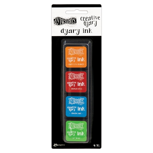 Ranger Dylusions CREATIVE DYARY INK PADS SET 2 Dyan Reaveley dye59158 Preview Image