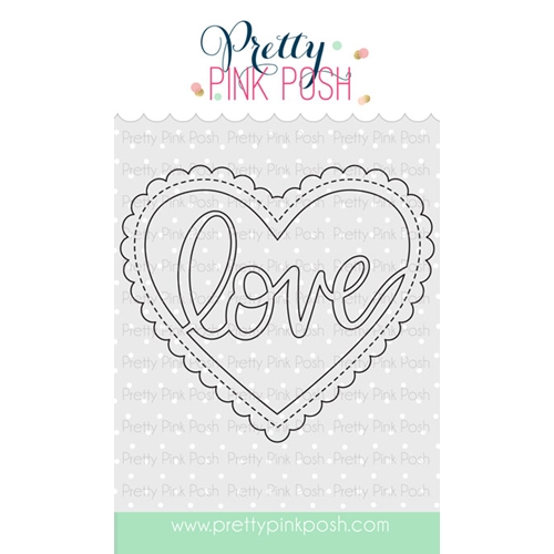 Pretty Pink Posh LOVE SHAKER Die  Preview Image