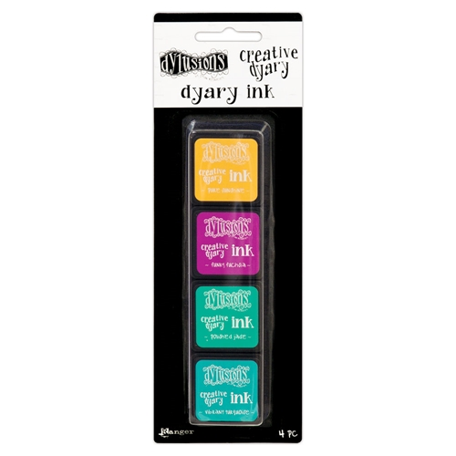 Ranger Dylusions CREATIVE DYARY INK PADS SET 3 Dyan Reaveley dye59165 Preview Image