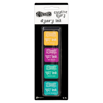 Ranger Dylusions CREATIVE DYARY INK PADS SET 3 Dyan Reaveley dye59165