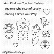 My Favorite Things SENDING A SMILE Clear Stamps CS264