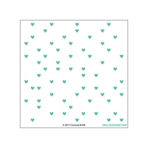 Concord & 9th HEART TURNABOUT Clear Stamp Set 10313 Preview Image