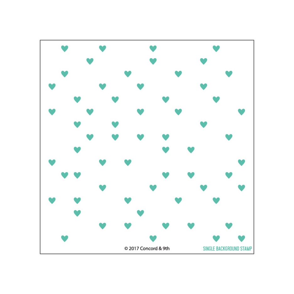 Concord & 9th HEART TURNABOUT Clear Stamp Set 10313 zoom image