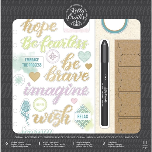 Kelly Creates HANDWRITTEN Journal Accessory Kit 346407* Preview Image