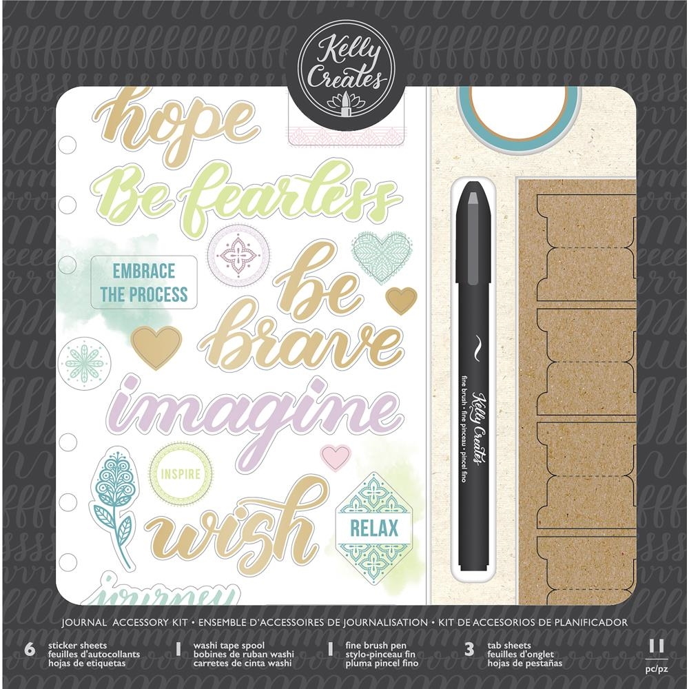 Kelly Creates HANDWRITTEN Journal Accessory Kit 346407* zoom image