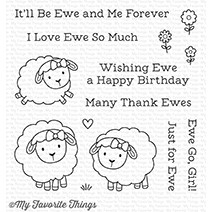 My Favorite Things EWE AND ME FOREVER Clear Stamps CS258