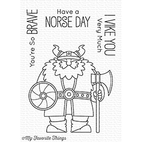 My Favorite Things VIKING Clear Stamps BB54* Preview Image