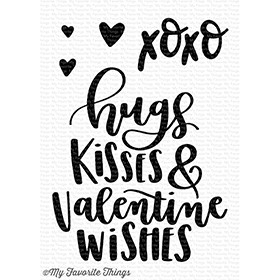 My Favorite Things VALENTINE WISHES Clear Stamps CS251