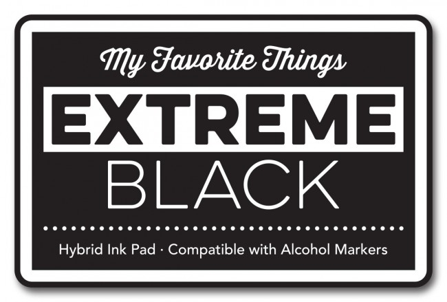 My Favorite Things EXTREME BLACK Hybrid Ink Pad MFT 2986 zoom image