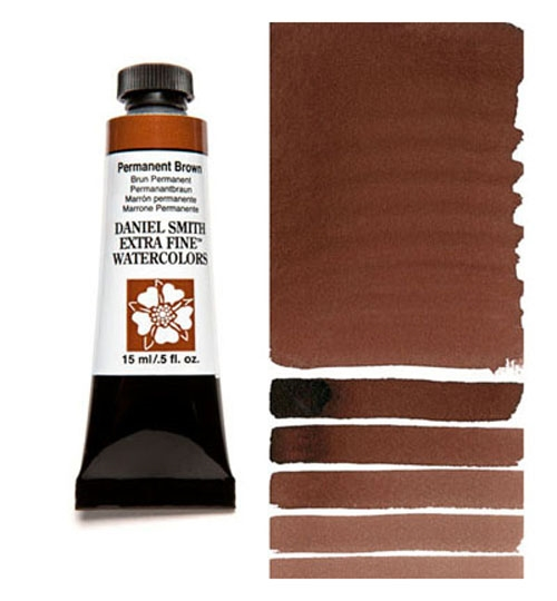 Daniel Smith PERMANENT BROWN 15ML Extra Fine Watercolor 284600068 zoom image