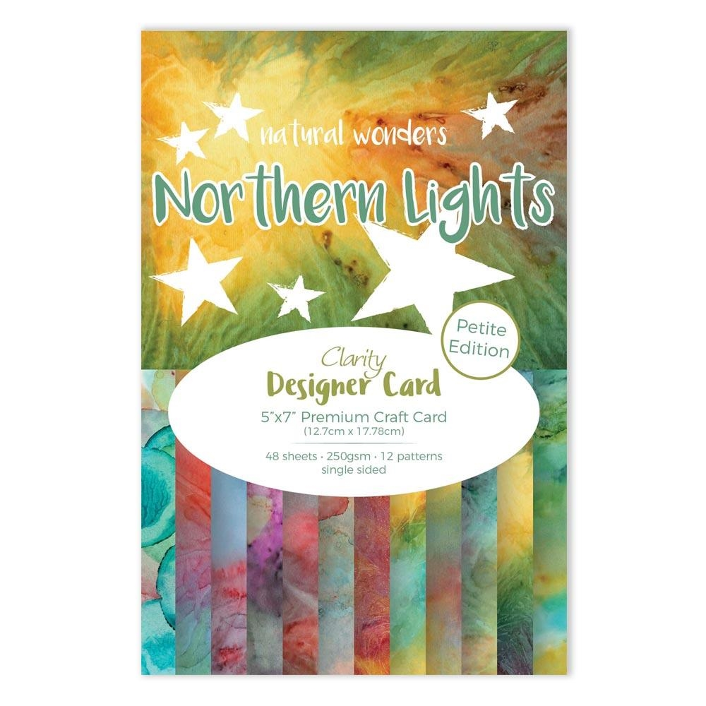 Claritystamp NORTHERN LIGHTS 5x7 Petite Designer Card accca3055357 zoom image