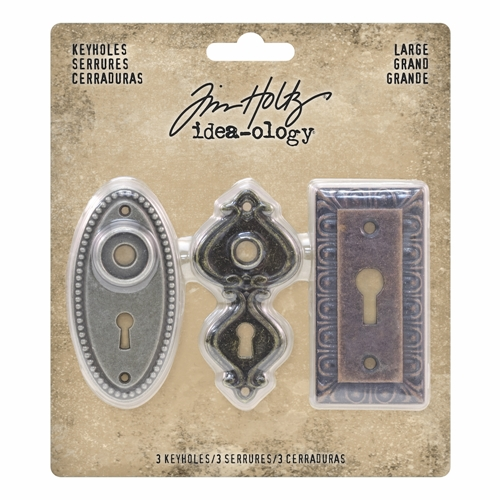 Tim Holtz Idea-ology LARGE KEYHOLES th93678 * Preview Image