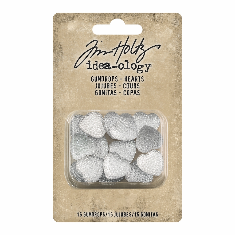 Tim Holtz Idea-ology GUMDROP HEARTS th93681 zoom image
