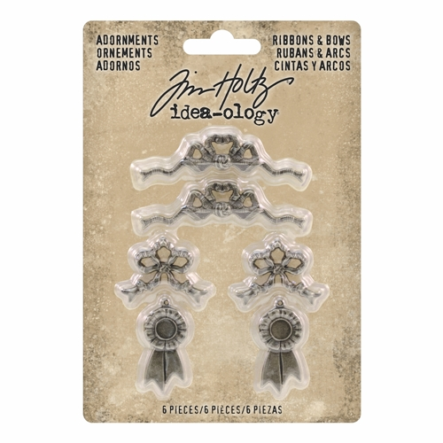 Tim Holtz Idea-ology RIBBONS & BOWS Adornments th93686 Preview Image
