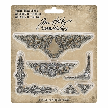 Tim Holtz Idea-ology VIGNETTE ACCENTS th93687